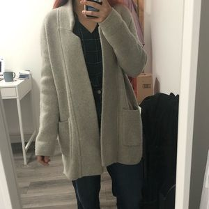 Madewell Spencer Sweater Coat - Size XS